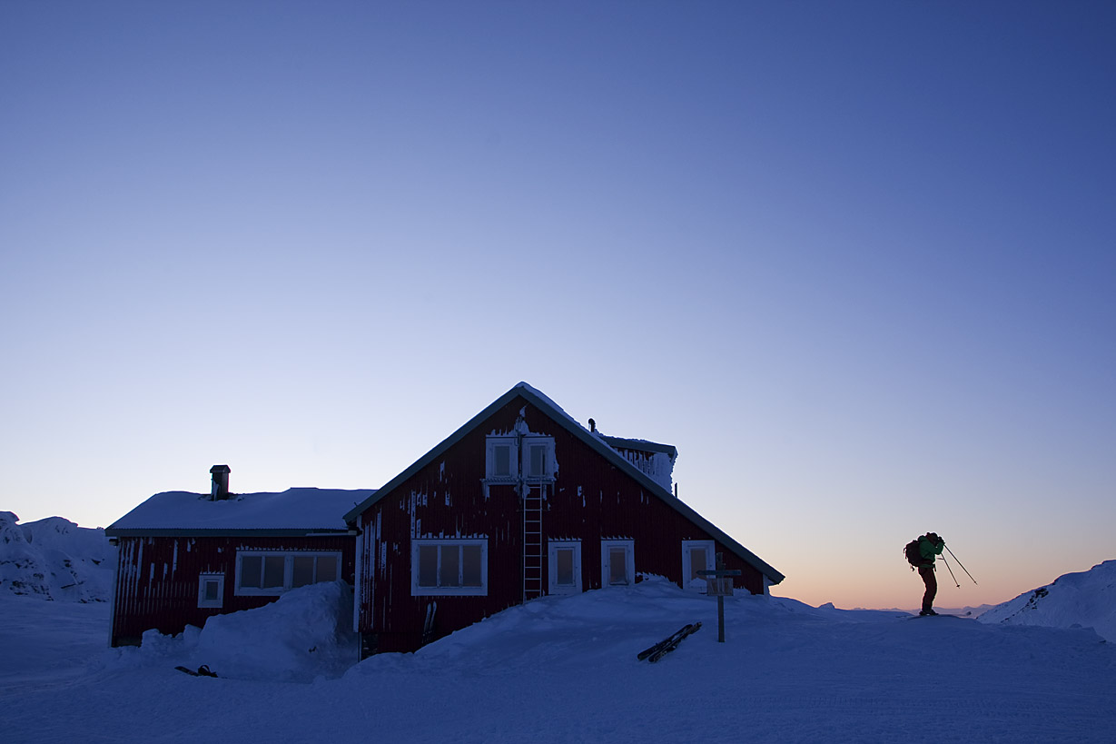 Låktatjåkka Mountain Station, Sweden