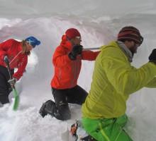11 snow caveing