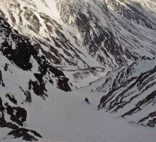 And Jesper down the following couloir