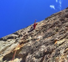Magnus Eriksson on Brevent's south face!