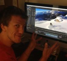 Bjarne Salén working on our season edit