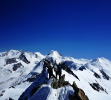 The Breithorn traverse
